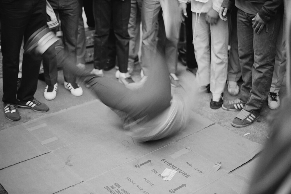 B-boys In New York City fine art photography