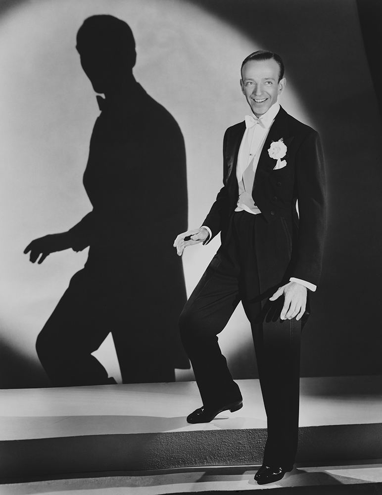 Astaire And Shadow from Hollywood fine art photography