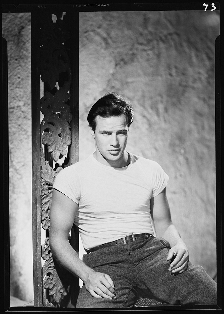 Brando As Kowalski from Hollywood fine art photography